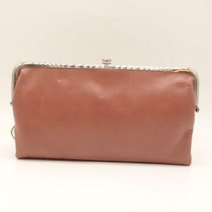 NWT HOBO Lauren Vintage Clutch Wallet Rose Pink